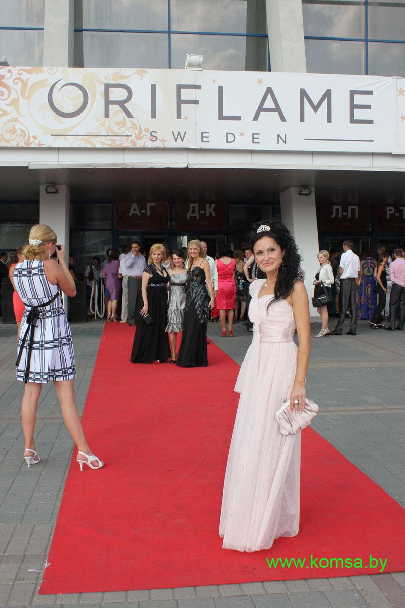 Юбилейный королевский бал Орифлэйм 6 июля 2012 года